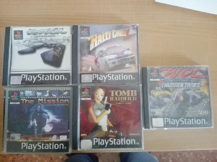 Lote 5 juegos ps1 / psone / psx