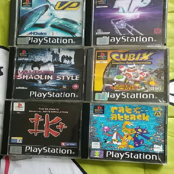 Lote 6 juegos ps1
