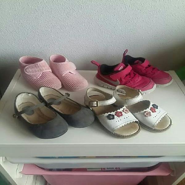 Lote calzado n. 22 y 23