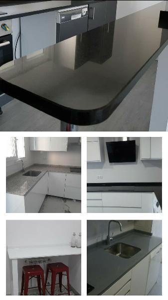 Muebles y encimeras de cocina