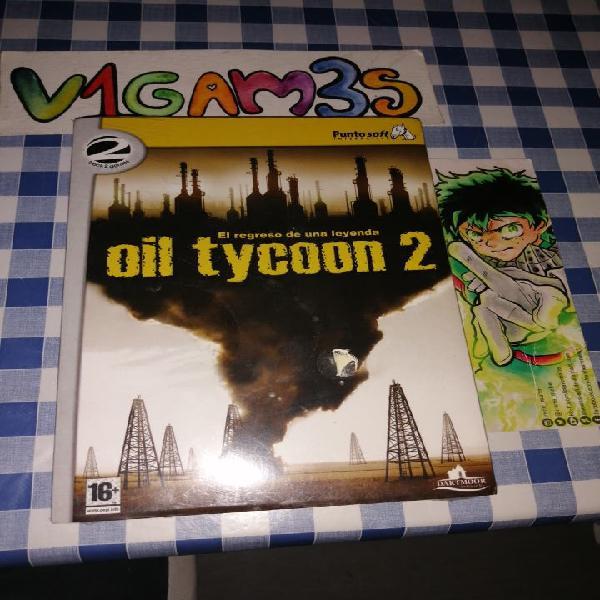 Oil tycoon 2 pc nuevo a estrenar