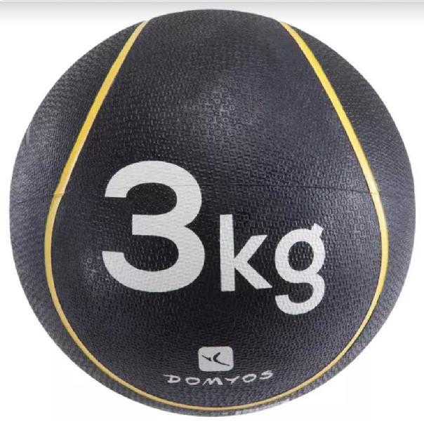 Pelota/balón medicinal 3kg.