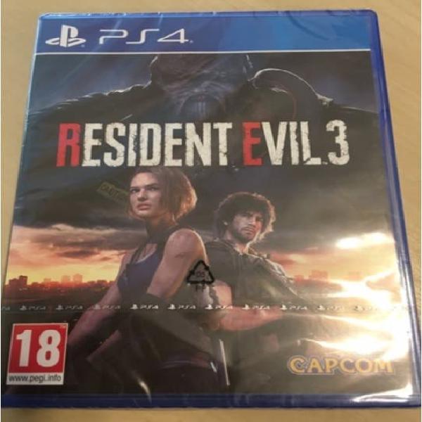 Resident evil 3 remake ps4 (preguntar por privado)