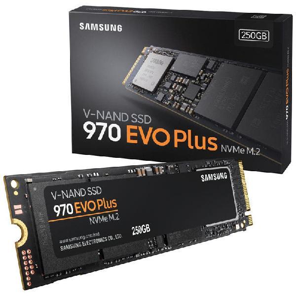 Samsung 970 evo plus ssd m.2 nvm-e. 250gb.nuevo/pr