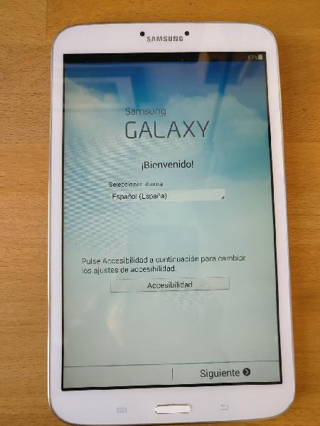 Samsung galaxy tab 3, 8'', 16gb