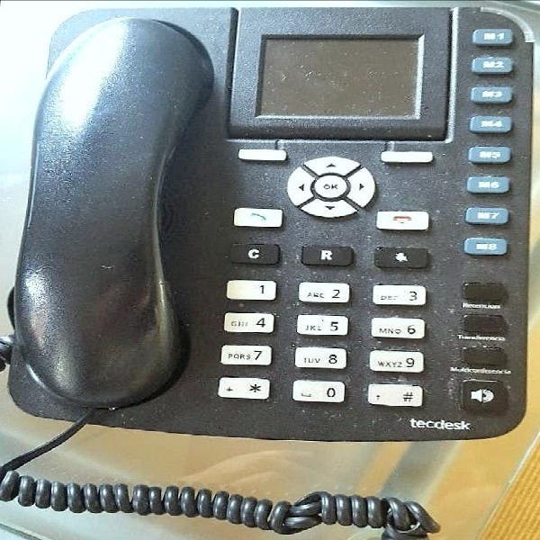 Teléfono fijo centralita tecdesk neo 3600