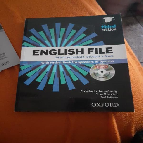 English file pre-intermediate students book 3 edit