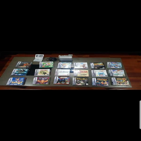 Gameboy advance sp y juegos