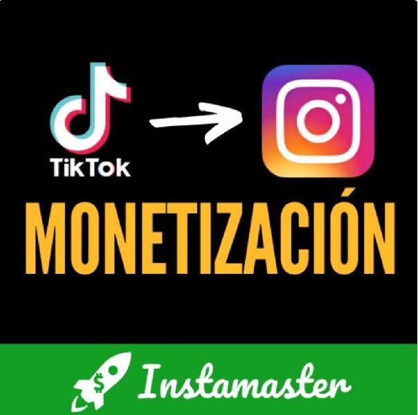 Ganar dinero con instagram y tictoc