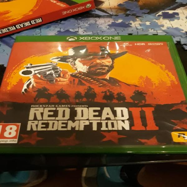 Juego xbox, red dead redemption ll.