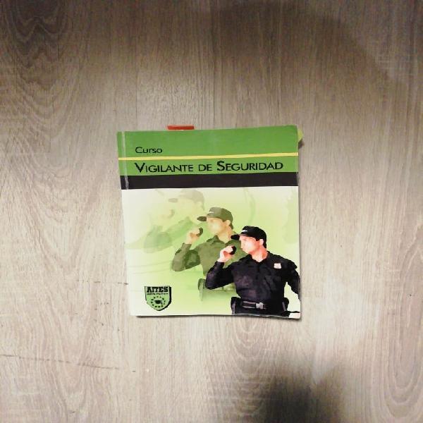 Libro curso vigilante seguridad