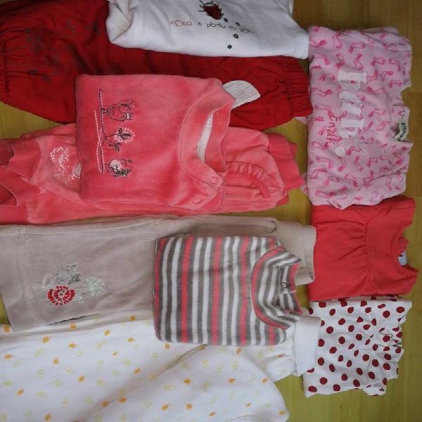 Lote niña bebé 3-6 meses