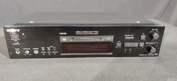 Minidisc sony mds 980 (usado)