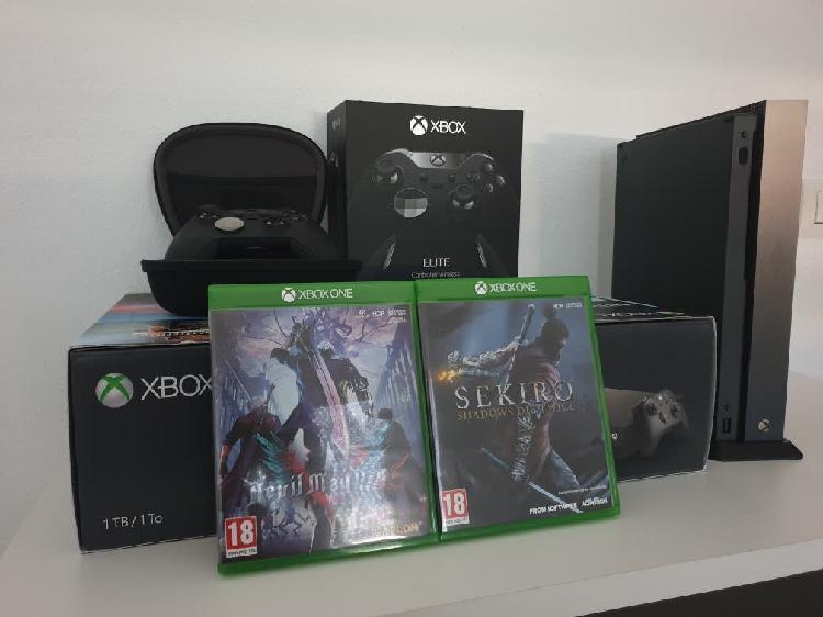 Xbox one x 1tb edicion battlefield