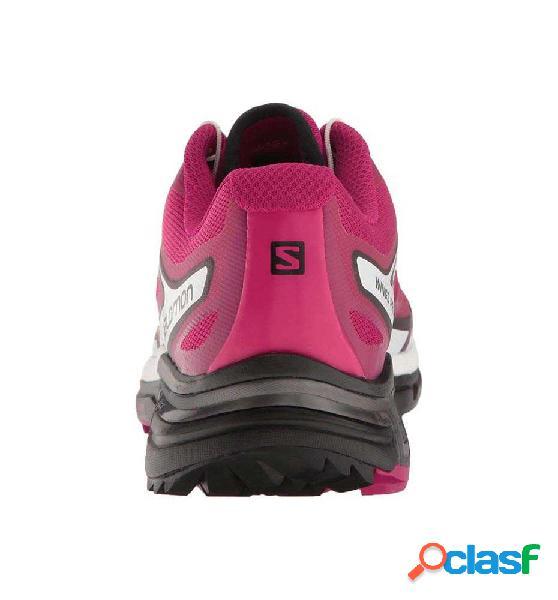 Zapatillas trail salomon calzado bajo wings pro 2 w 38 lila