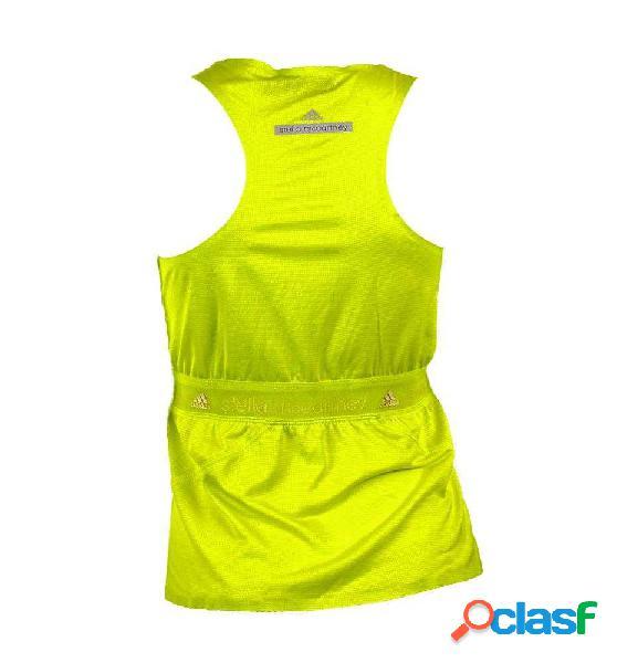 Camiseta running adidas run az tank amarillo xs