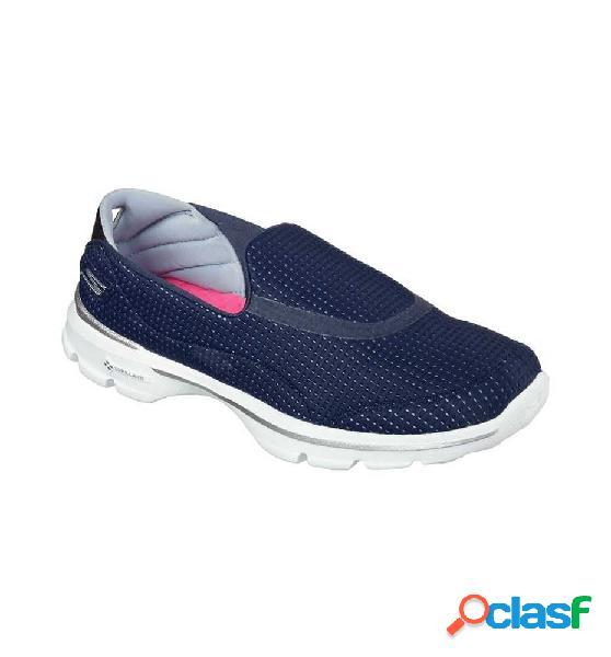 Zapatillas outdoor skechers go walk 3 - unfold 41 azul marino