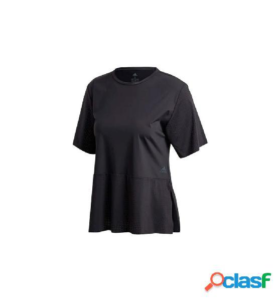 Camiseta m/c fitness adidas tech tee negro s