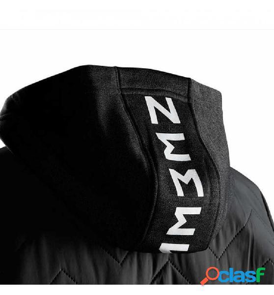 Sudadera con capucha casual adidas yb nm fz hoodie 164 gris oscuro