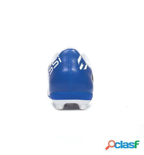 Botas futbol adidas nemeziz messi 18.4 fxg j 38 blanco