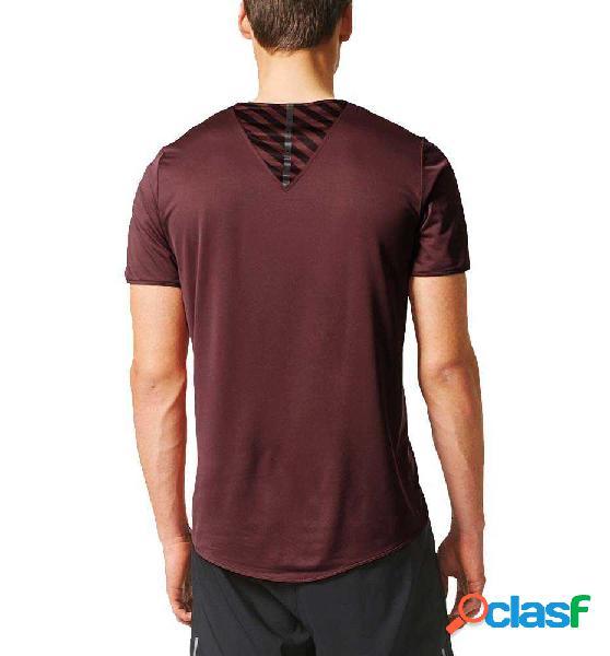 Camiseta running adidas az ss tee m m rojo