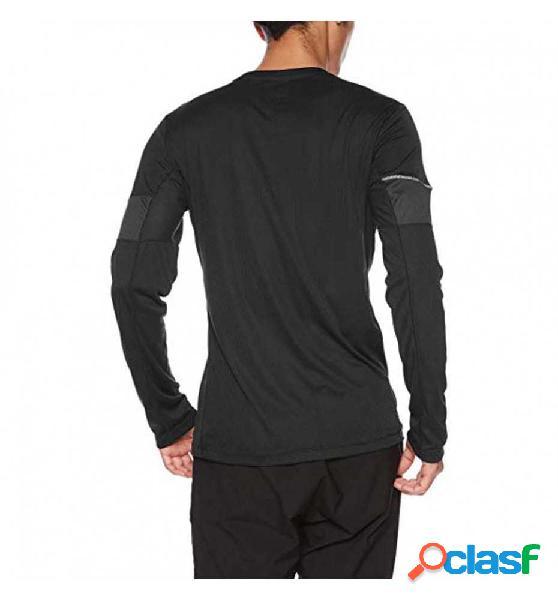 Camiseta M/l Trail Salomon Ml Agile Ls Tee M Negro Xl