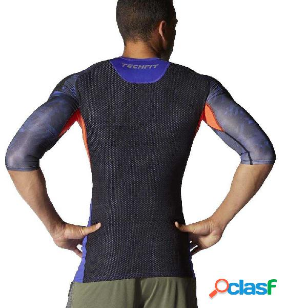 Camiseta fitness adidas ais tfcool 3/4 m negro