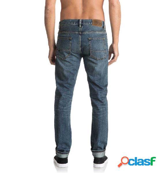 Pantalon casual quiksilver distorsionmedbl m pant 36 azul