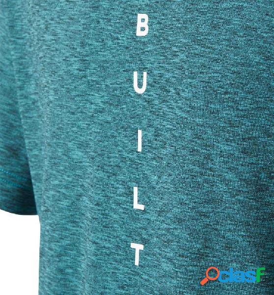 Camiseta Fitness Adidas Yb M Ml Tee 164 Azul 2