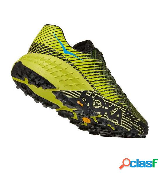Zapatillas trail hoka evo speedgoat 46 amarillo