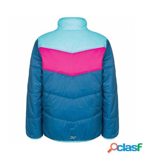 Anorak outdoor niño regatta chaqueta iceboun blue pink ii 140 azul