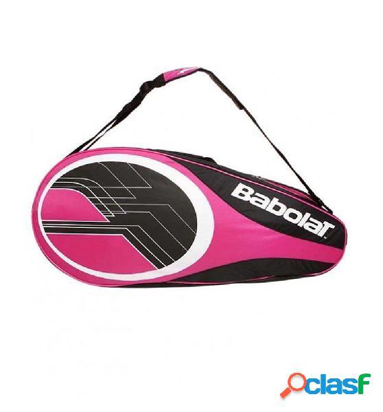 Bolsas tenis babolat raquetero raket hodelr x6 club lila unica