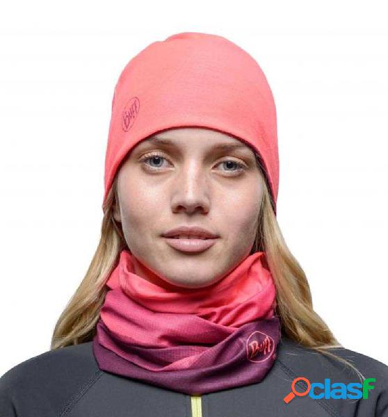Gorro microfibra buff reversible hat softhi rosa unica