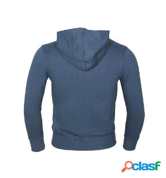 Sudadera con capucha casual para niño converse azul marino m