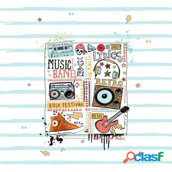 Edredón ajustable music tejidos jvr 1