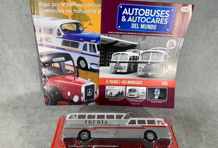 Autobús pegaso z-403 monocasco - autobuses del mundo iberia