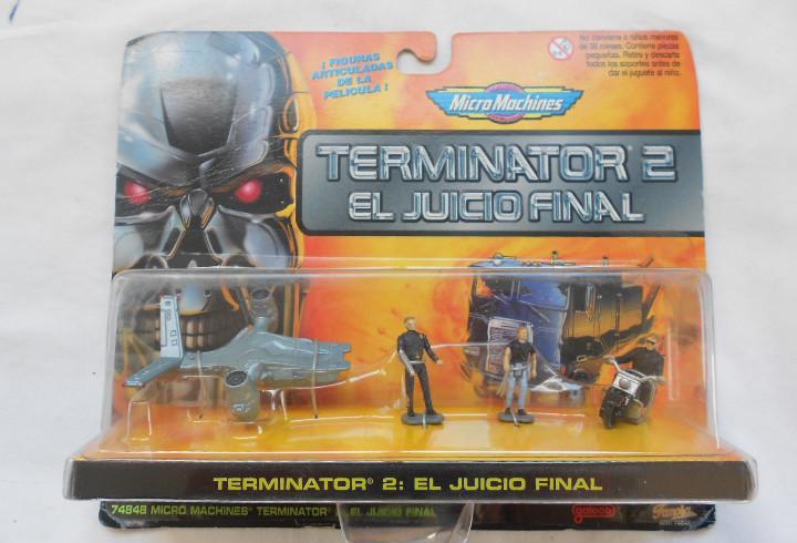 Blister figuras terminator 2 el juicio final micromachines