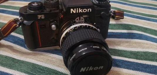 Cámara de fotos nikon f3