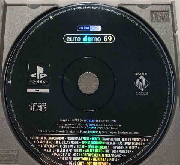 Euro demo 69 playstation psx ps1 psone