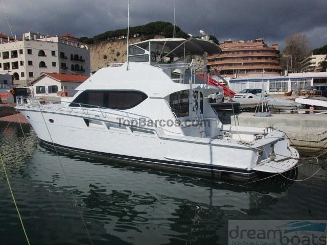 Hatteras yachts 55 convertible(motores con 326 horas)
