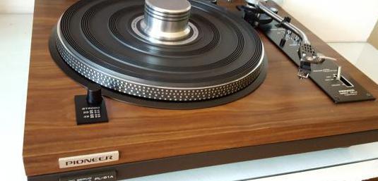 Pioneer pl-51a plato tocadiscos vintage