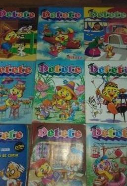 Revistas petete años 80