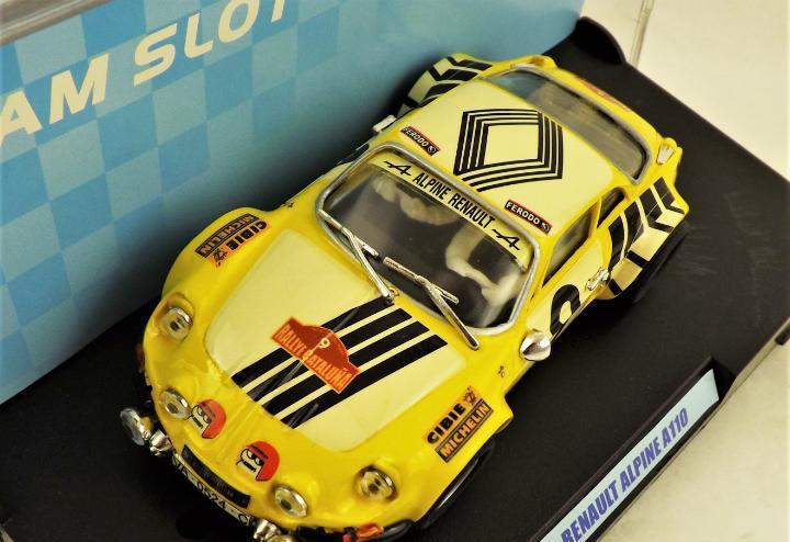 Team slot renault alpine a110 edición limitada a 1.000