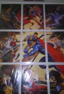 Dc vs marvel colección cromos trading cards
