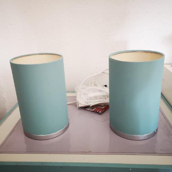 2 lámparas de mesa