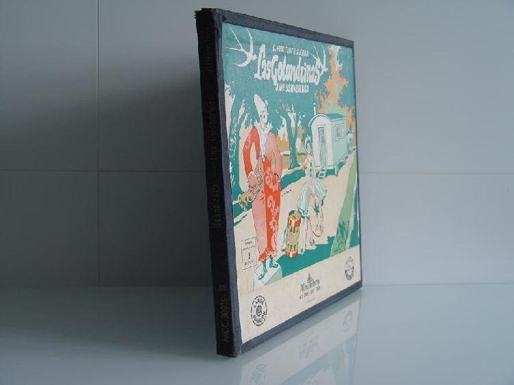 Album las golondrinas ópera