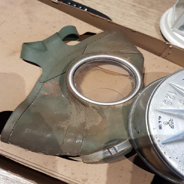 Alemania nazi mascara de gas original ww2 3°reich