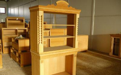 Consola en madera