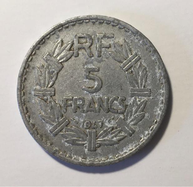 Francia - 5 francs 1947