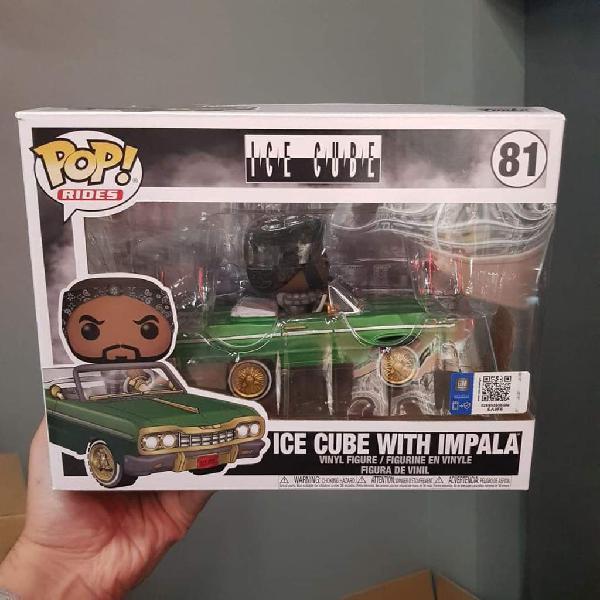 Funko pop! ice cube with impala